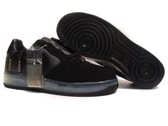 Air force 1 Low Shoes-Cheap Men s Nike Air force 1 Low Shoes All Black b7ac69145