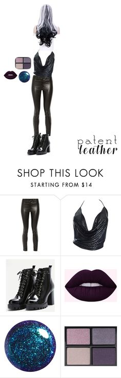 """How the Goths Do it"" by batgirl-at-the-disco3 ❤ liked on Polyvore featuring J Brand, Paco Rabanne and Tom Ford"