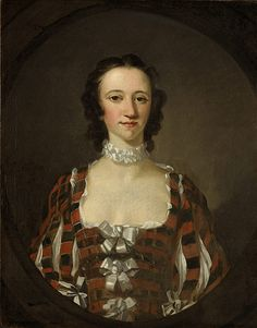 Richard Wilson (1714-1782) - Flora Macdonald (Fionnghal Nighean Raghnaill 'ic Aonghais Òig) (1722-1790). Oil on Canvas. Circa 1747. 76.40cm x 58.70cm. A Jacobite Heroine, who Helped Prince Charles Edward Stuart to Escape after the Battle of Culloden. Scottish Costume, Scottish Dress, Scottish Clothing, Historical Clothing, Female Clothing, Historical Costume, Scottish Fashion, Historical Dress, Historical Fiction