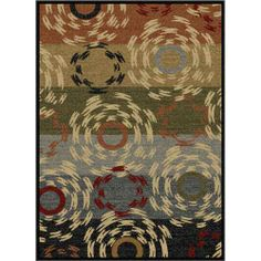 This area runner has geometric swirls that combine to create an energetic and festive transitional home décor accent runner. Infused with blue, red, beige, black and green, it makes a stunning presentation that your guests will appreciate.