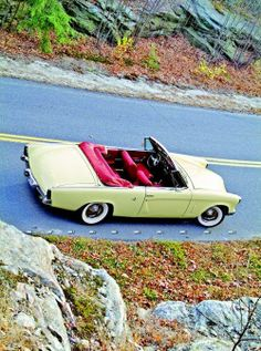 A custom Studebaker Commander convertible. Did Studebaker ever build it? No, but they should have.