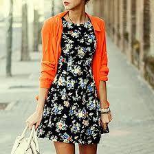 sundresses -love the bright sweater