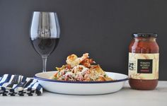 Maggie Beer's King Prawn Pappardelle with Tomato and Chilli Sugo