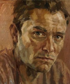 Jude Law celebrity paintings