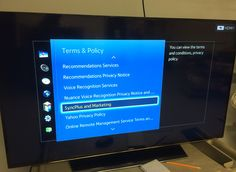 How to turn off snooping features on smart TVs #privacy