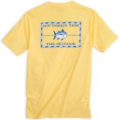 Southern Tide Original Skipjack T-Shirt in Pineapple
