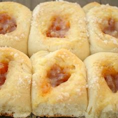 Kolaches - One of my absolute favorites from my sister