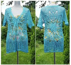 SALE: Beach Tunic / Cover UP /  Relax Fit V-neck  / Resort