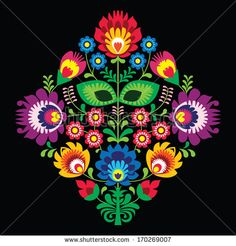 Traditional Polish Art   Folk Art Stock Photos, Images, & Pictures   Shutterstock