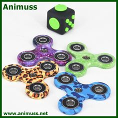 2017 New EDC Hand finner Spinner Fidget toy with ceramic bearing for ADD ADHD Anxiety Autism and Boredom