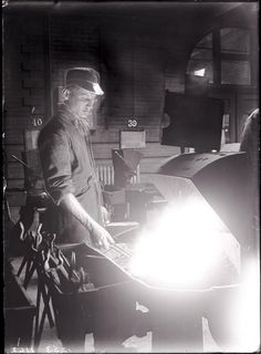 Forge Work. 1914-1918. UHPC, University Archive, Archives and Special Collections, CSU, Fort Collins, CO