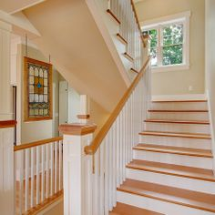 White Maple And Metail Railings Design Ideas, Pictures, Remodel and Decor
