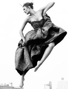 Constance Jablonski photographed by Greg Kadel for Vogue Germany September 2010 by leta