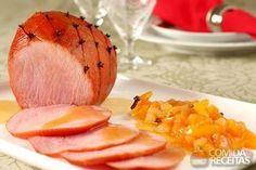 Receita de Tender com chutney de damasco e pera em Carnes, veja essa e outras receitas aqui!