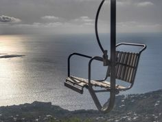 Take a 13-minute breath-taking yet comfortable ride to the top of Monte Solaro for #Capri's most beautiful panorama!