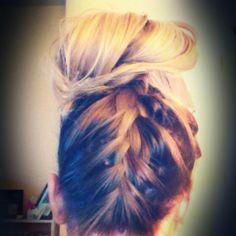 Love the braid up!