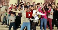 Worldwide Flashmob Will Inspire You to Get Up and Dance - Be Happy - Heartwarming Video