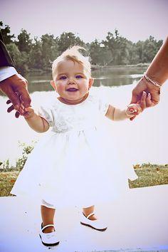 Baby wedding photo idea