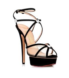 #Matchesfashion Isadora strappy shoes  by Charlotte Olympia