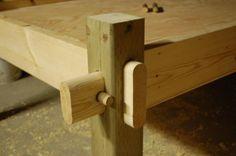 Bed frame for all seasons primitive camp -