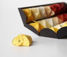 Beautiful tea packaging design <3
