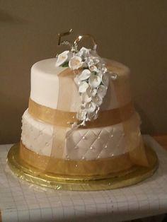 42 years anniversary wedding cakes