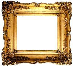 Doodlecraft: Vintage Gold Gilded Frames Free Printables! Many frames