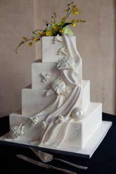 star wars wedding cakes - Google Search