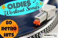 Give your workouts a blast from the past with these fun and energizing songs--as voted on by SparkPeople members like you! See which oldies hit was ranked No. 1 for working out. Senior Fitness, Fitness Tips, Fitness Motivation, Exercise Motivation, Fitness Pal, Fitness Challenges, Cycling For Beginners, Workout Songs, Spark People