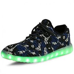ee11ea0891ee Camouflage Mesh Light Up LED Sports Shoe Light Up Shoes