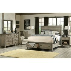 Legacy Classic Furniture Brownstone Village Storage Panel Bedroom Collection | Wayfair