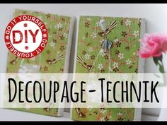 Deko Inspirationen - Selbstgemacht by Mrs. Shabby Chic (Patricia Morgenthaler) - YouTube
