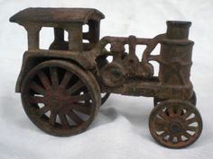 Hubley Avery Cast Iron Steam Toy Farm Tractor