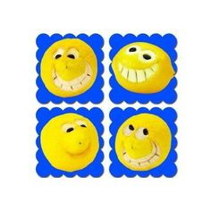 Pegatinas de incentivo con aroma a limón.