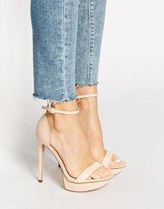 ASOS HIGH CROSS Heeled Sandals