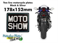 http://www.motoshowplates.com/platebuilder?size=black_and_silver_178x152mm