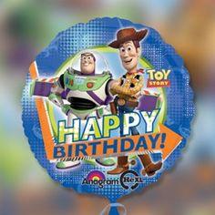 """Toy Story Disney Pixar Oficial Fiesta Foil Balloon 18/"""" Anagrama Nuevo"""