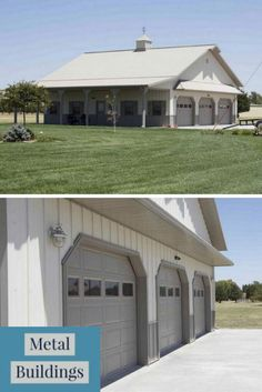 Metal buildings shops with man caves and metal garage buildings louisiana - Check Out THE PIC for Lots of Tips and Ideas. Prefab Metal Buildings, Metal Garages, Shop Buildings, Steel Buildings, Metal Shop Houses, Metal Shop Building, Building A House, Steel Garage, Garage Loft