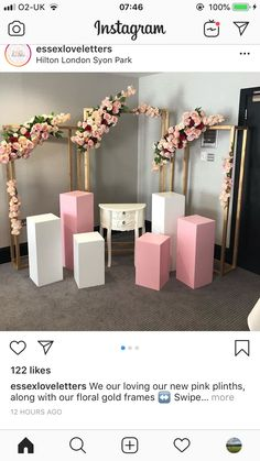 Best 12 21 Amazing DIY PVC Pipes Projects That Will Blow Your Mind – Homesthetics – Inspiring ideas for your home. Deco Buffet, Decoration Evenementielle, Birthday Party Decorations, Wedding Decorations, Table Decorations, Backdrop Design, Diy Backdrop, Backdrop Stand, Backdrops