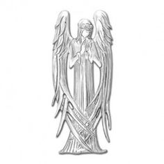 Inspired by the Museum of Fine Arts in Boston, the Beardsley Angel Ornament has stunning sweeping lines that are delicately created in the finest sterling:  $68.00