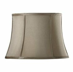 Pin by pj coleman on house to home pinterest drum lamp shades amazon tapered drum silk lamp shade 14 grey aloadofball Choice Image