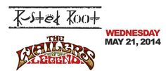 Rusted Root and The Wailers (Wednesday) May 21, 2014