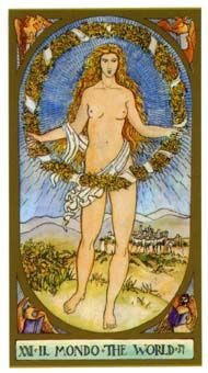 The World, The Renaissance Tarot Completion and perfection. The vast design of nature. The interconnecting patterns of experience. Fulfillment and success. The World Tarot Card, Ace Of Swords, Sphinx, Epic Of Gilgamesh, Roman Gods, Tarot Major Arcana, Tarot Card Meanings, World Images, Family Tattoos
