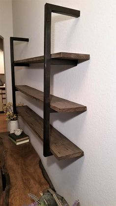 Listing is for two brackets... enough to create one shelving unit.  How to Order:  Pick the height of the shelf structure and your shelf depth from the pull down menus above. We will add a 1/8 to your specified depth dimension to make sure that your shelves will fit securely while
