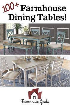 Discover the top-rated farm home dining table sets and rustic dining tables. When you are looking for farmhouse dining room furniture, you will find it here. Farmhouse Bedroom Furniture Sets, Farmhouse Dining Room Table, Dining Tables, Dining Room Furniture, Top Rated, Rustic, Diy Projects, Goals, Collections
