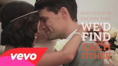 Joel and Moriah, clips of their wedding....   Moriah Peters - I'll Wait For You (Official Lyric Video)
