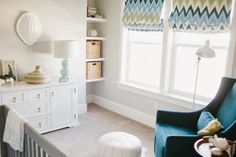 6th Street Design School | Kirsten Krason Interiors : Hawaiian Themed Nursery Before & After
