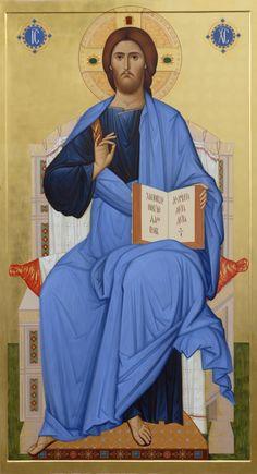 icon of Saviour by hands of Anton Daineko. More you can see here http://ikona-skiniya.com/