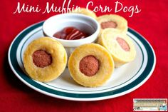 Mini Muffin Corn Dogs - Another Secret Recipe Club Reveal - Jen's Journey