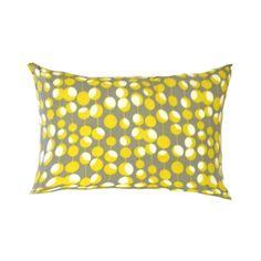Yellow Pillow Cover Mustard Pillow Martini Dots by AnyarwotDesigns, $17.00